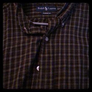 Beautiful olive Ralph Lauren shirt